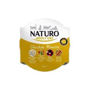 NATURO Cat Chicken Mousse kasskonservid 85 g