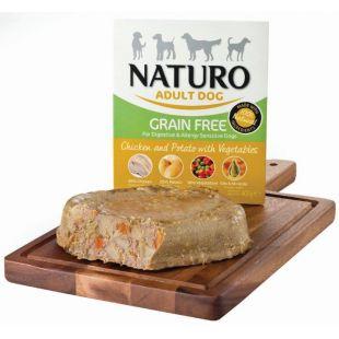 NATURO Grain Free Chicken & Potato with Veg. Koerakonservid 400 g