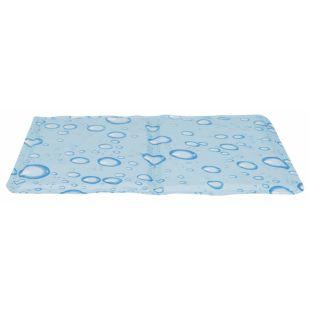 TRIXIE Охлаждающий коврик, светло синий S 40x30, светло-голубой