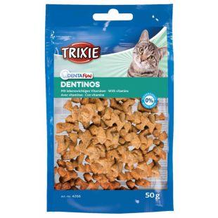 TRIXIE Dentinos лакомства для кошек с витаминами 50 г