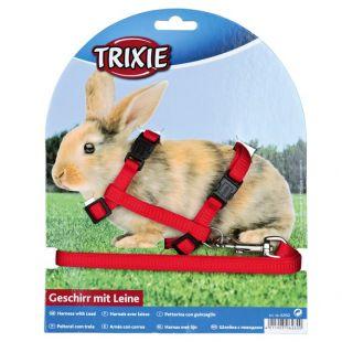 TRIXIE Шлейки и поводок для кроликов x 1