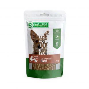 NATURE'S PROTECTION närimismaius koertele pardiliha võileivad, 75 g