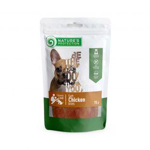 NATURE'S PROTECTION närimismaius väikesed koertele kanatükid 75 g