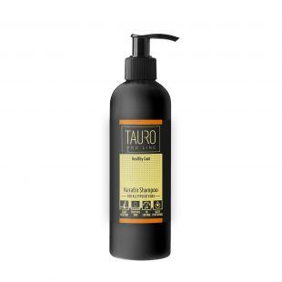 TAURO PRO LINE Healthy Coat KERATIN SHAMPOO шампунь для собак и кошек 250 мл