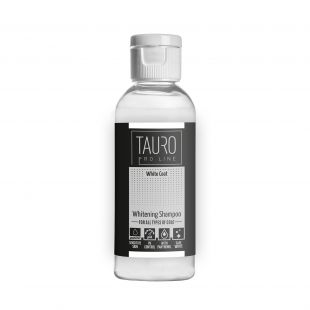 TAURO PRO LINE White Coat Whitening šampoon koertele ja kassidele 100 ml