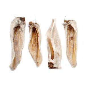 NATURE LIVING Närimismaius kuivatatud lambakõrvad villaga 100 g