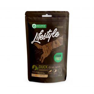 NATURE'S PROTECTION LIFESTYLE närimismaius koertele pehmed parditükid merikapsaga, 75 g