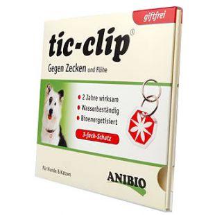 ANIBIO Подвеска Tic-clip от клещей и блох 1 шт.