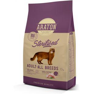 ARATON Сухой корм для кошек Sterilised 1.5 кг