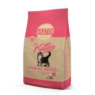 ARATON Kuivtoit kassipoegadele Kitten 1,5 kg