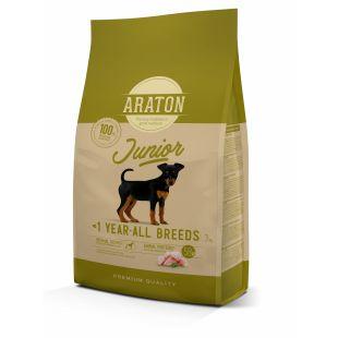 ARATON Kuivtoit koertele Junior Poultry 3 kg