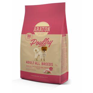 ARATON Сухой корм для собак Adult Poultry 3 кг