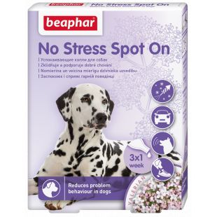 BEAPHAR No Stress Spot on Dog капли для собак 1 пипетка x 3