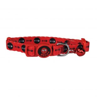 DOCO Kaelarihm kassile punane, 1x19-31 cm, XS