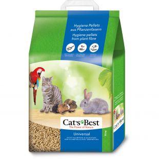 JRS Cats best Universal наполнитель для туалетов домашних животных, древесный 20 л x 2