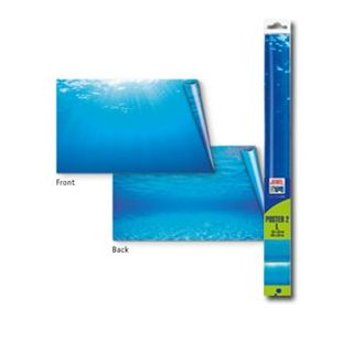 JUWEL Juwel Poster Фон с изображением воды для аквариума, L, двусторонний 60x30 см, S размер