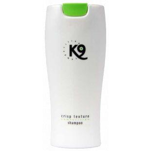 K9 COMPETITION Crisp Texture Shampoo jämeda karvaga koertele ja kassidele 300 ml