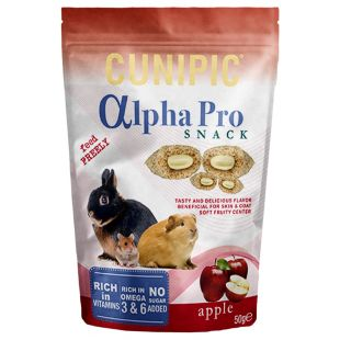 CUNIPIC Alpha Pro Snack снек для грызунов 50 г
