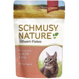 FINNERN MIAMOR Schmusy Nature Vollwert-flakes kassikonservid lõhe ja riisiga 100 g