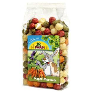 JR FARM Rodent Marbles - näriliste ja kääbusküülikute toidulisand 70 g