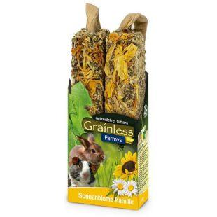 JR FARM JR farm Grainless Farmys лакомство для грызунов 140 г