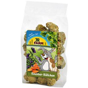 JR FARM näriliste ja kääbusküülikute toidulisand-maius porgandi ja lutserniga 150 g