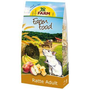 JR FARM Food Rats Adult, täisväärtuslik täiskasvanud rottide toit 500 g