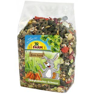JR FARM Dwarf Rabbits Feast Toit kääbusküülikutele 1.2 kg