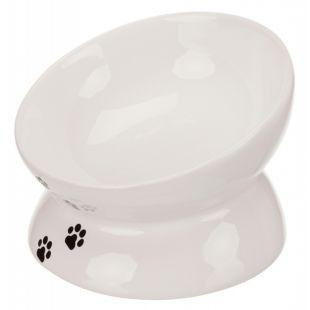 TRIXIE Keraamiline kauss kassidele valge, 250 ml, 13 cm