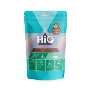 HIQ лакомства для собак ломтики утки с кокосом 75 г