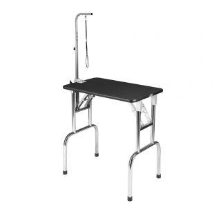 SHERNBAO Стол раскладной с ножками из нержавеющей стали,  75x47x 82см