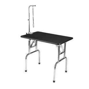 SHERNBAO Стол раскладной с ножками из нержавеющей стали,  90x60x76 см