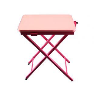 SHERNBAO X-kujuline laud, roosa