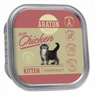 ARATON Kitten with chicken, konservid kanaga kassipoegadele 85 g