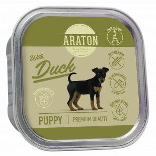 ARATON Puppy konservsööt noortele koertele pardilihaga 150 g