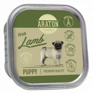 ARATON Puppy konservsööt noortele koertele lambalihaga 150 g