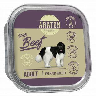 ARATON Adult konservsööt täiskasvanud koertele veiselihaga 150 g
