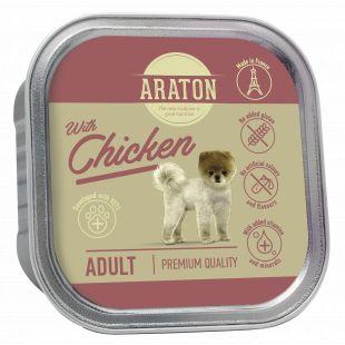 ARATON Adult konservsööt täiskasvanud koertele kanalihaga 150 g