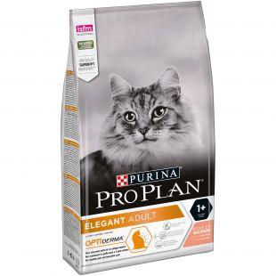PRO PLAN Cat Elegant with OPTIDERMA, rich in salmon, kuivtoit täiskasvanud kassidele lõhega 1.5 kg