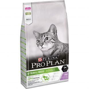 PRO PLAN Cat Sterilised Adult (1+ year) with OPTIRENAL, rich in turkey сухой корм для кошек 10 кг
