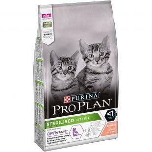 PRO PLAN Cat Sterilised Kitten (< 1 year) with OPTISTART, rich in salmon , kuivtoit steriliseeritud kassipojale lõhega 1.5 kg
