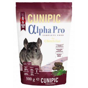 CUNIPIC Alpha Pro корм для шиншилл 500 г