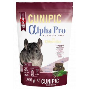 CUNIPIC Alpha Pro tšintšiljatoit 500 g