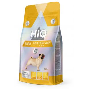 HIQ Kuivtoit koertele Mini Golden Age Care 1.8 kg