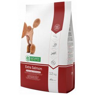 NATURE'S PROTECTION Сухой корм для собак All breeds Adult Extra Salmon 12 кг