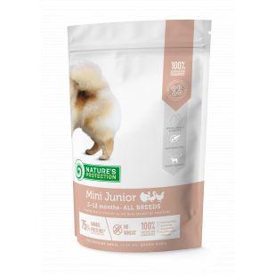 NATURE'S PROTECTION Сухой корм для собак Mini Small breeds Junior 2-12 months Poultry 500 г