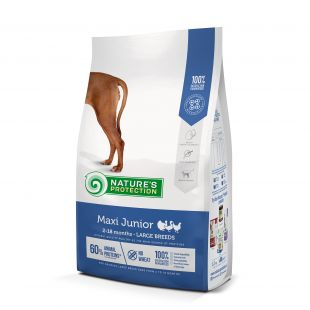 NATURE'S PROTECTION Сухой корм для собак Maxi Large breeds Junior 2-18 months Poultry 12кг