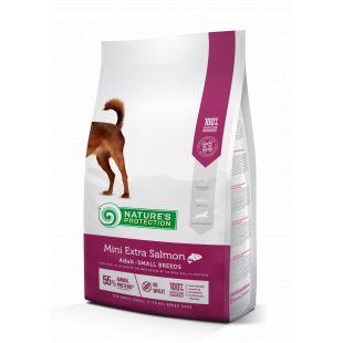 NATURE'S PROTECTION Сухой корм для собак Mini & Small breeds Adult Extra Salmon 2кг