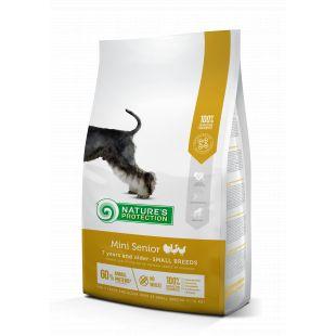NATURE'S PROTECTION Kuivtoit koertele Mini Small breeds Senior 7 years and older Poultry 2 kg