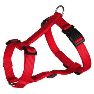 TRIXIE Nailonist traksid koertele S-M: kogupikkus – 40–65 cm, rihma laius – 15 mm, punane
